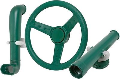 Swing Set Stuff Periscope Telescope Steering Wheel Kit; Green