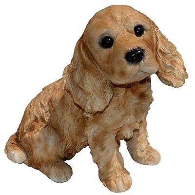 Michael Carr Cocky Cocker Spaniel Puppy Statue