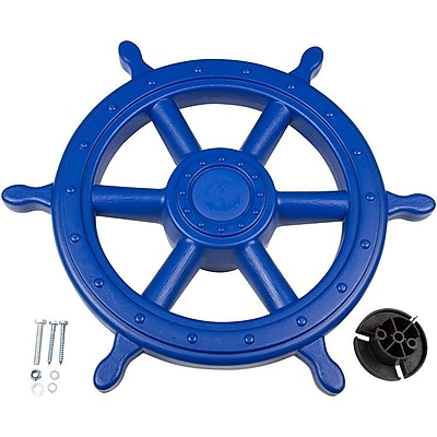 Swing Set Stuff Ships Wheel; Blue