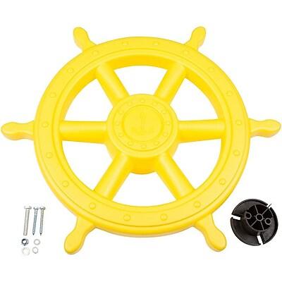 Swing Set Stuff Ships Wheel; Yellow