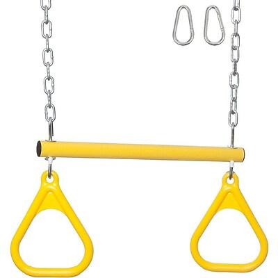 Swing Set Stuff Trapeze Bar/Rings w/ Uncoated