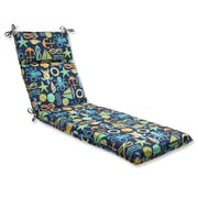 Pillow Perfect Seapoint Outdoor Chaise Lounge Cushion; Neptune