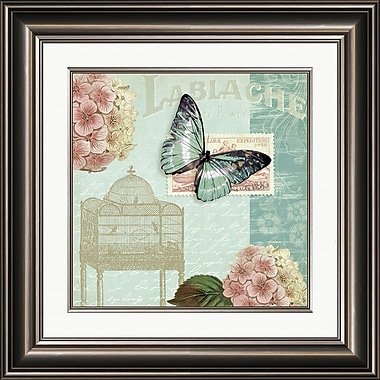 PTM Images Floral Garden I Framed Graphic Art