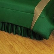 Sports Coverage NHL Dallas Stars Polyester Jersey Bed Skirt; Twin