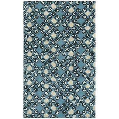 Capel Charisma Blue / Ivoryl Impressions Area Rug; 5' x 8'