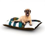 KESS InHouse 'Elephant of Namibia' Dog Bed; 40'' L x 30'' W