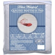 BargooseHomeTextiles Deluxe 1'' Polyester Mattress Pad; Hospital Twin