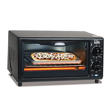 Elite by Maxi-Matic Cuisine 4-Slice Oven Broiler Toaster Oven