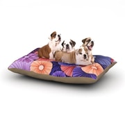 KESS InHouse 'Raspberry Sherbert' Dog Bed; 28'' L x 18'' W