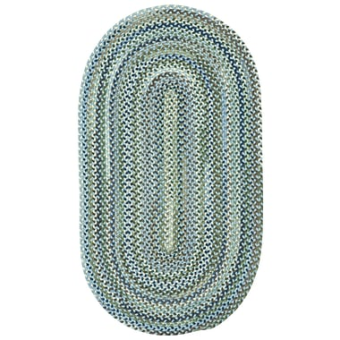 Capel Manchester Light Blue Area Rug; Oval 1'8'' x 2'6''