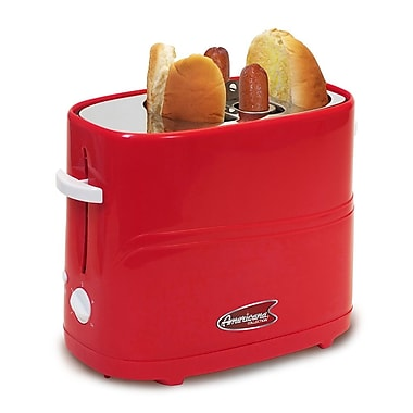 Elite by Maxi-Matic Cuisine Hot Dog Toaster; Red