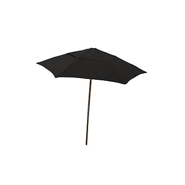 Fiberbuilt Market 7.5' Umbrella; Black