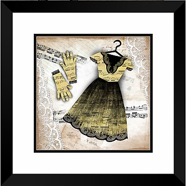 PTM Images Mini Couture I Framed Graphic Art