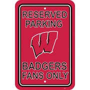 Fremont Die NCAA Graphic Art; Wisconsin Badgers