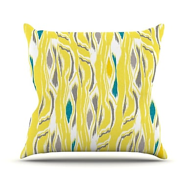 KESS InHouse Barengo Sunshine Outdoor Throw Pillow; 18'' H x 18'' W x 3'' D
