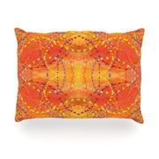 KESS InHouse Sunrise Outdoor Throw Pillow; 14'' H x 20'' W x 3'' D