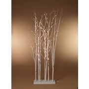 Sterling Inc 67'' Electric Lighted Aspen Grove Forest Lamp; White