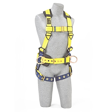 CAPITAL SAFETY GROUP USA Polyester No-Tangle Harnesses, Extra Large