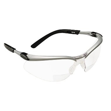 3M Occupational Health & Env Safety Reader Protective Eyewear, Gray Lens