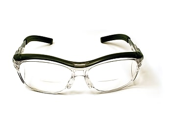 3M Occupational Health & Env Safety Glasses With Gray Plastic Frame, 1.5 Diopter