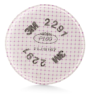 3M Occupational Health & Env Safety Filter 4.3 x 4.3 inch 2 Pack