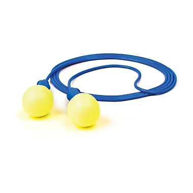 3M Occupational Health & Env Safety Push-Ins Corded Earplugs 500/Box