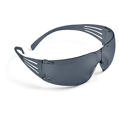 3M Occupational Health & Env Safety Plastic Protective Eyewear, Gray Lens