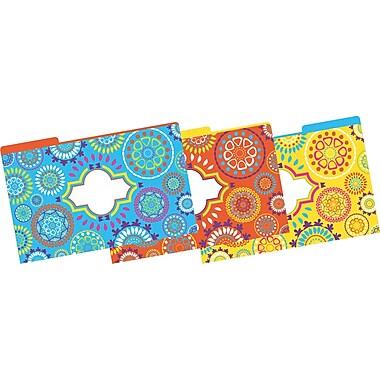 Barker Creek – Chemises tendance marocaines, format légal, 3 onglets, plusieurs modèles, 9/paquet (BC2501)