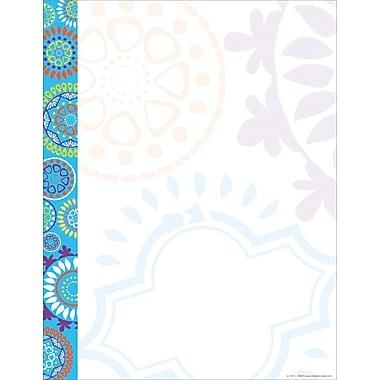 Barker Creek Moroccan Computer Paper, 8-1/2
