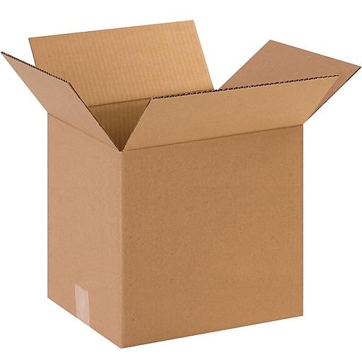 "131013 Brown 13"" x 13"" Corrugated Boxes, 25/Bundle"