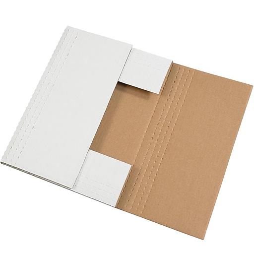 "24"" x 18"" x 2"" Easy-Fold Mailers, 50/Bundle (M24182BF)"