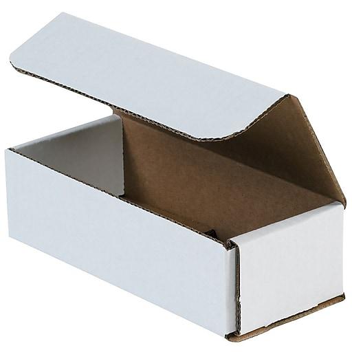 "7"" x 3"" x 1"" Corrugated Mailers, 50/Bundle (M731)"