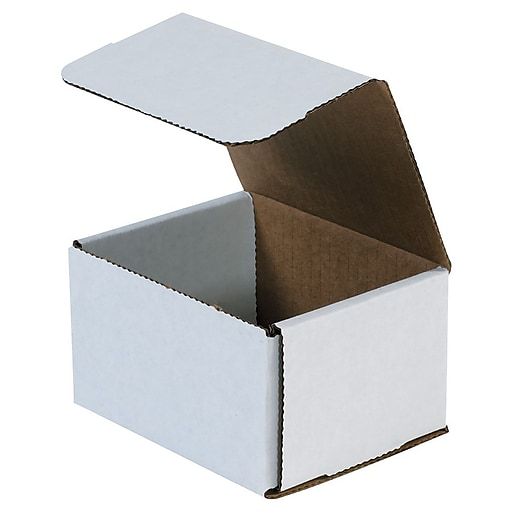 "8"" x 7"" x 4"" Corrugated Mailers, 50/Bundle (M874)"