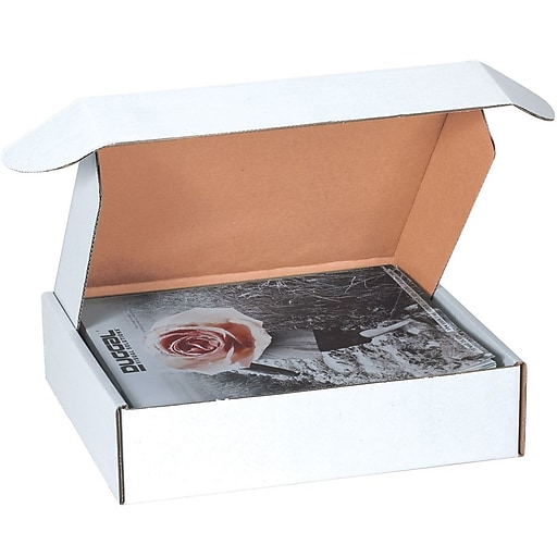 """MFL12123 Oyster White 3"""" x 12"""" Deluxe Literature Mailers, 50/Bundle"""