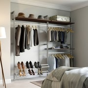Space Pro Relax 88''W Closet System; Tuxedo