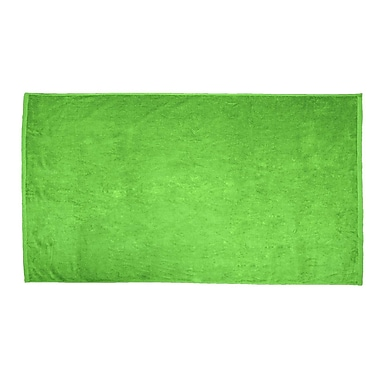Terry Town Terry Velour Beach Towel; Lime