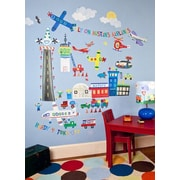 Oopsy Daisy Airport Peel and Place Wall Decal