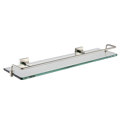 Kraus Aura Wall Shelf; Chrome