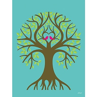 GreenBox Art 'The Tree of Life' by Eleanor Grosch Graphic Art on Wrapped Canvas
