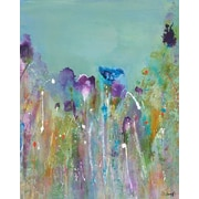 GreenBox Art 'In The Purples' Print on Wrapped Canvas