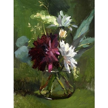 GreenBox Art 'Glass Half Full' by Suzanne Baker Painting Print on Wrapped Canvas