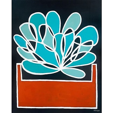 GreenBox Art 'Tecta' by Lisa DeJohn Painting Print on Canvas