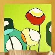 GreenBox Art Poppies Wall Mural