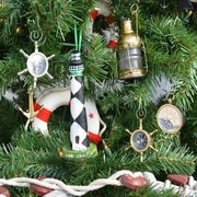 Handcrafted Nautical Decor Cape Lookout Lighthouse Christmas Tree Ornament