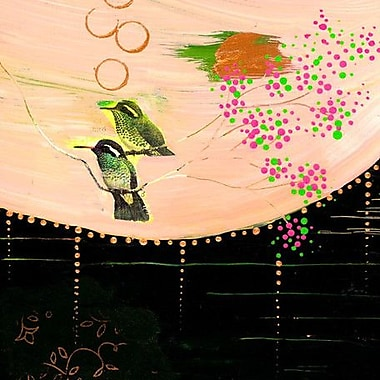 GreenBox Art 'Pretty' by Flora Bowley Painting Print on Wrapped Canvas