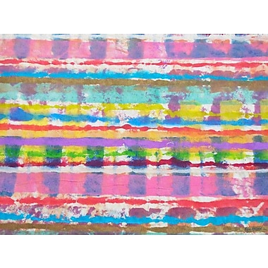 GreenBox Art 'Color Blast' by Kim Holbrook Painting Print on Wrapped Canvas