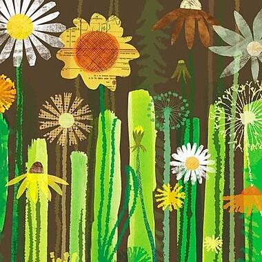GreenBox Art 'Daisy Garden' by Maria Carluccio Graphic Art on Wrapped Canvas