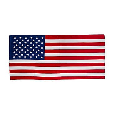 Terry Town US Flag Beach Towel