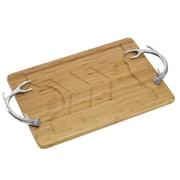 Arthur Court Antler Bamboo Carving Board