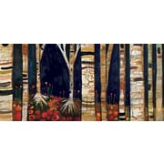 GreenBox Art 'Birch Trees' by Eli Halpin Graphic Art on Wrapped Canvas